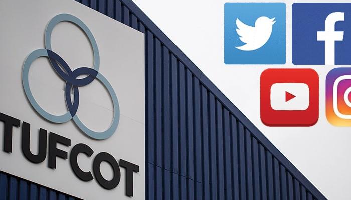 Tufcot Engineering social media channels