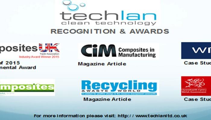 Techlan Award & recognition - Meet Tufcots supplier