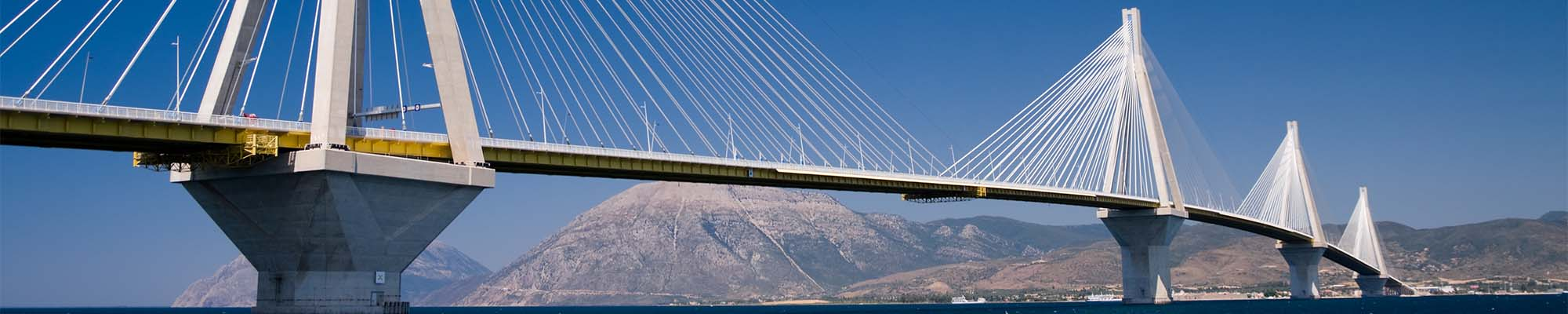 Large Bridge above water - Structural Market Sector