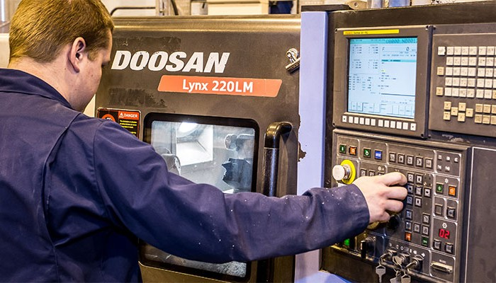Doosan lathes are preferred choice for Tufcot