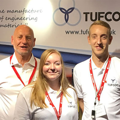 The Tufcot team including Greg, Chrissie and Elvin