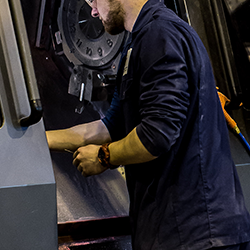 Tufcot Services - Step 3 - Machining