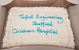 Tufcot Easter Charity Event - Cake for Sheffield Childrens Hospital
