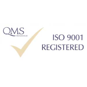 ISO 9001 Accredited - Quality Management System