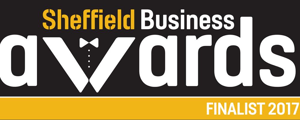 Sheffield Business Awards 2017 Finalist Logo