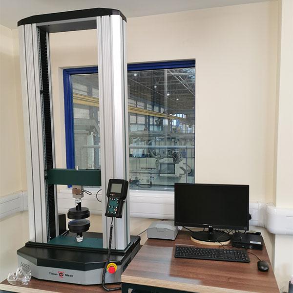 Research and Development - Tinius Olsen Universal Testing Machine