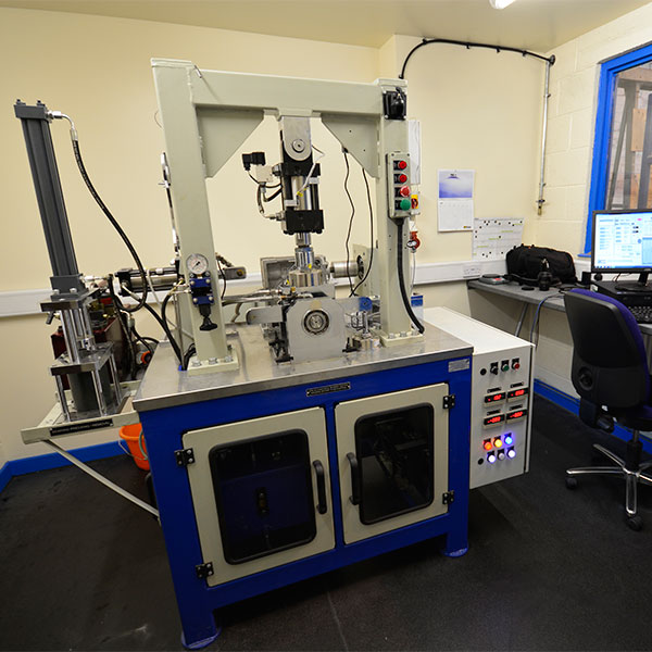 Research and Development - Friction Test Rig